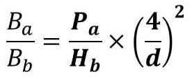 コンバースの法則計算式